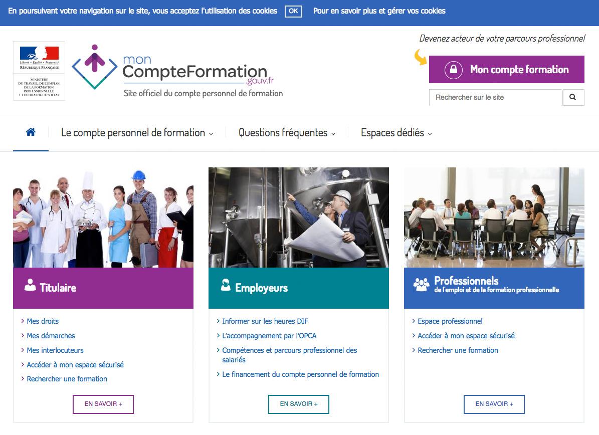 sitemoncompteformation